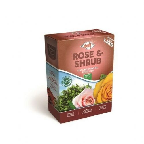 Doff Rose & Shrub Manure Enriched Fertiliser 1.5kg